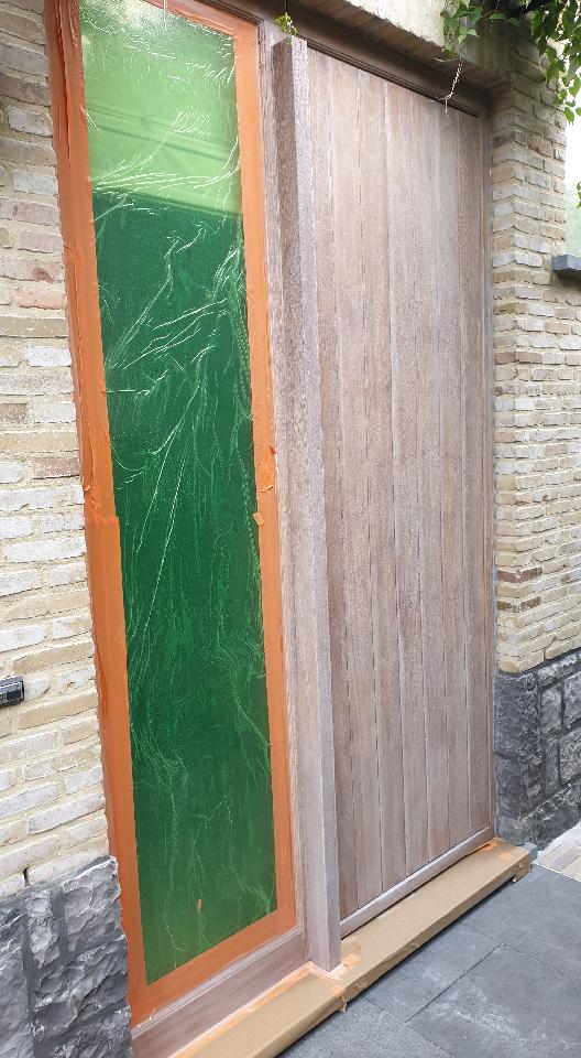 Luchtgommen   natuurlijke olie   buitendeuren